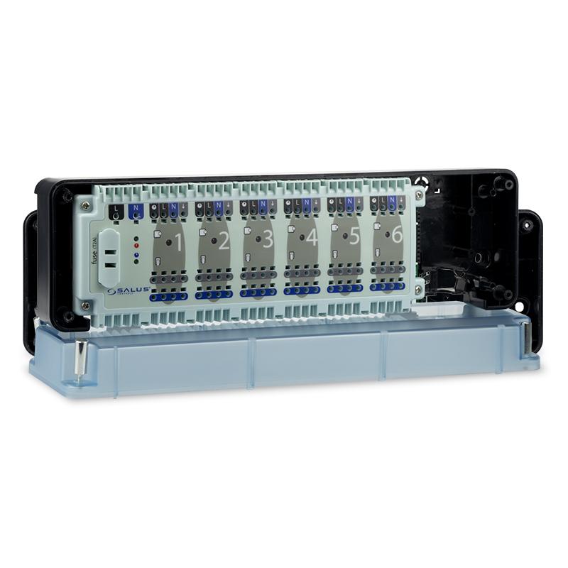 SALUS KL06-230V - Centrální svorkovnice podlahového vytápění