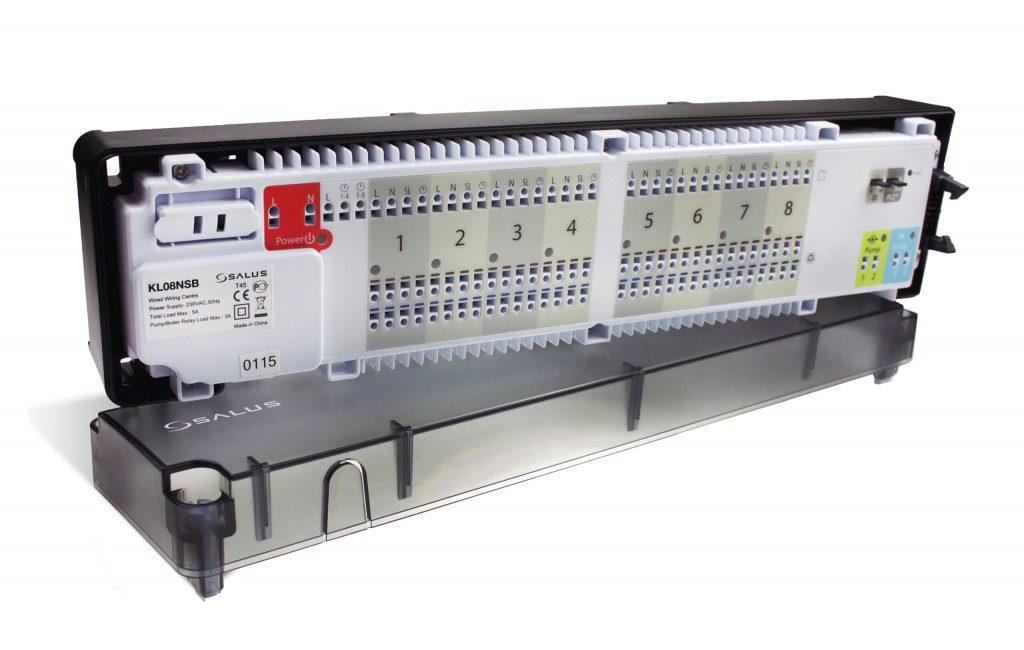 SALUS KL08NSB - Centrální svorkovnice , drátová komunikace