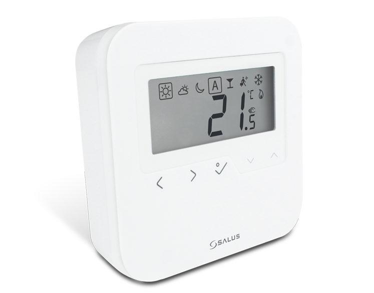 SALUS HTRS-RF - Bezdrátový digitální denní termostat