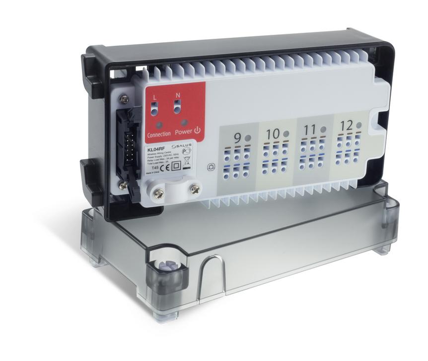 SALUS KL04RF - Rozšiřovací modul k svorkovnici KL08RF