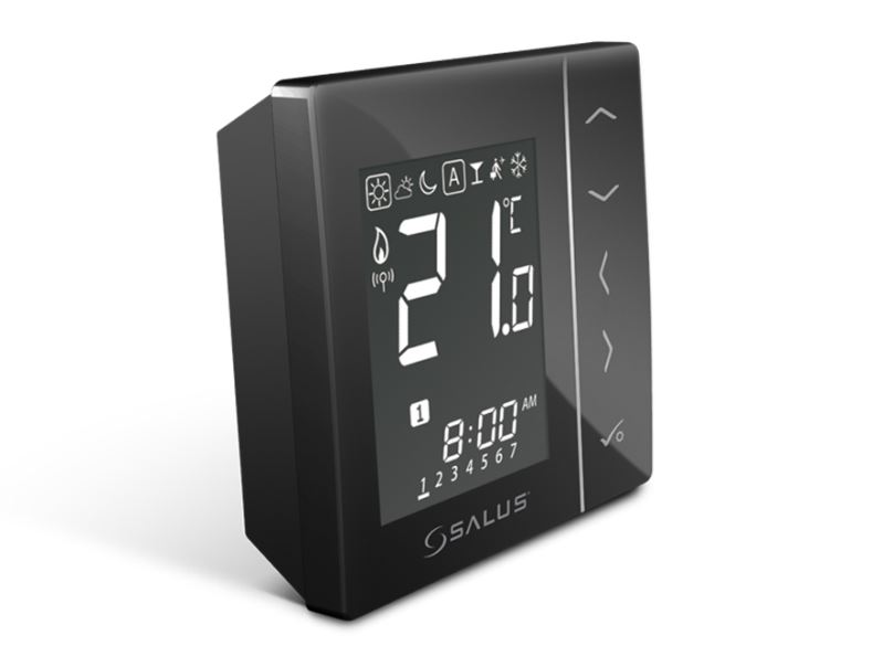 SALUS VS20BRF - Bezdrátový digitální pokojový termostat 4v1