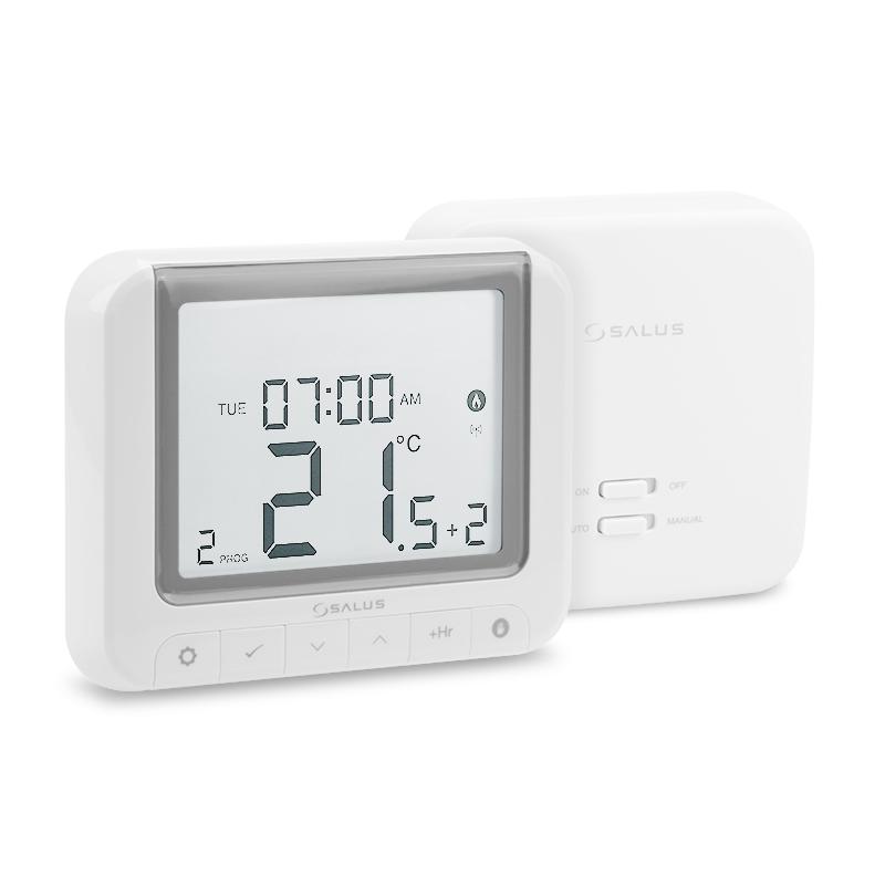 SALUS RT520RF - Digitální programovatelný bezdrátový termostat s možností OpenTherm