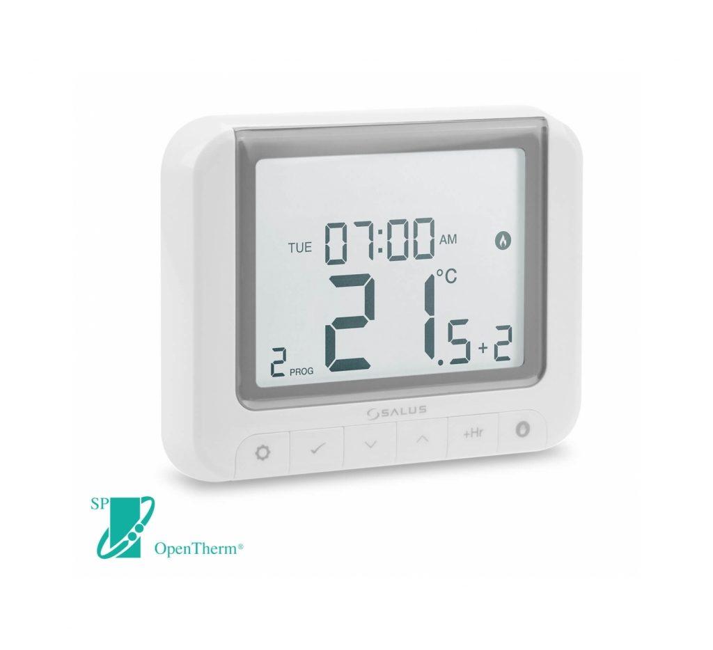 SALUS RT520 - Digitální programovatelný termostat s možností OpenTherm