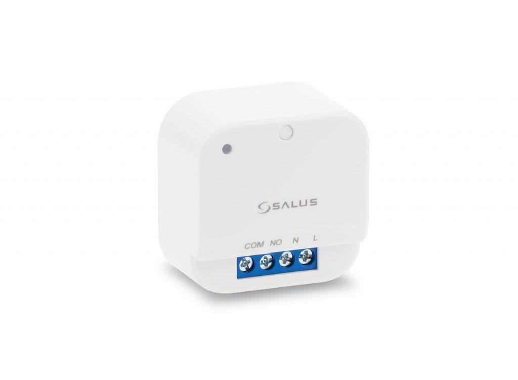 SALUS SR868 - Reléový přijímač určený pro bezdrátové termostaty řady RT