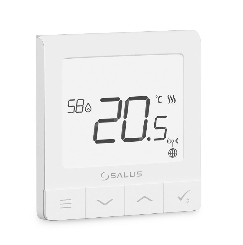 SALUS SQ610 - Multifunkční termostat s čidlem vlhkosti