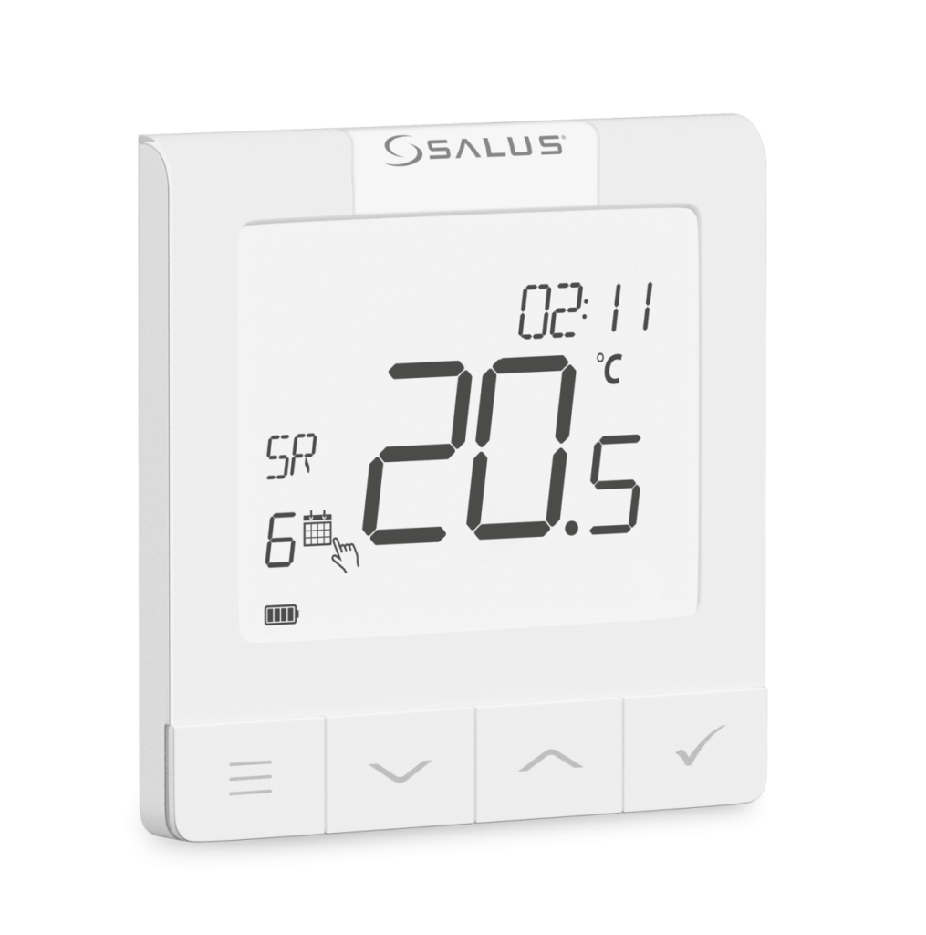 SALUS WQ610 - Digitální termostat s možností komunikace OpenTherm
