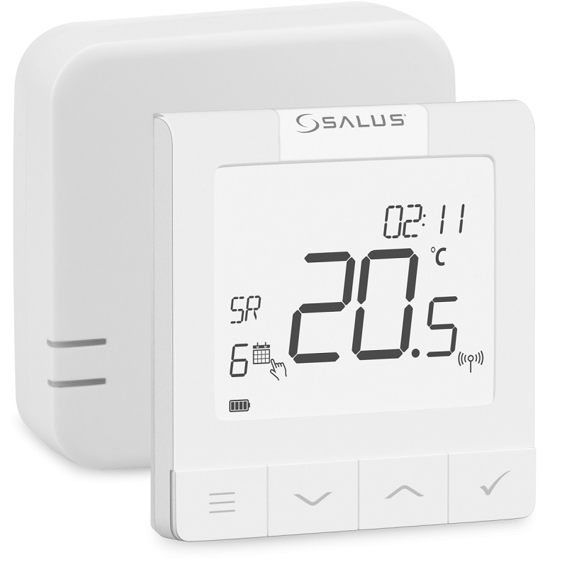 SALUS WQ610RF - Bezdrátový termostat s možností komunikace OpenTherm