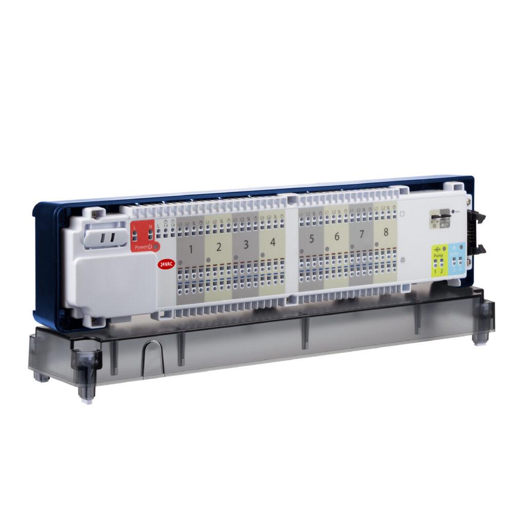 SALUS KL08NSB-24V - Centrální svorkovnice , drátová komunikace 24V AC