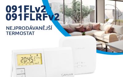 Nejprodávanější termostat 091FLv2 / 091FLRFv2