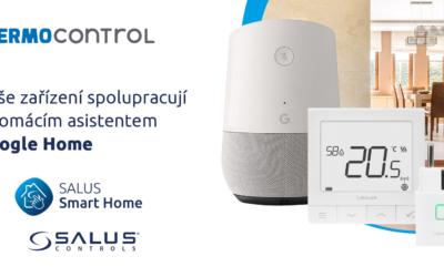 SALUS Controls a Google Home